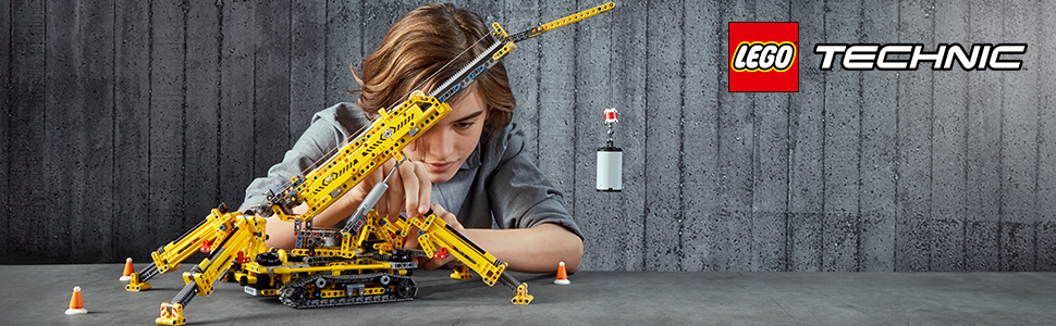 Buy LEGO 42097 Compact Crawler Crane Online at Low Prices in India ...