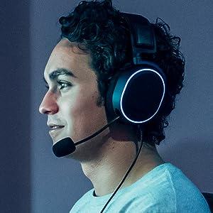 steelseries arctis pro + gamedac yüksek çözünürlüklü oyuncu kulaklığı