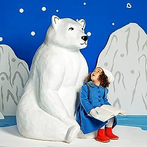 Vaso Antiderrames Munchkin Miracle 360/° Wildlove Oso Polar 177 ml