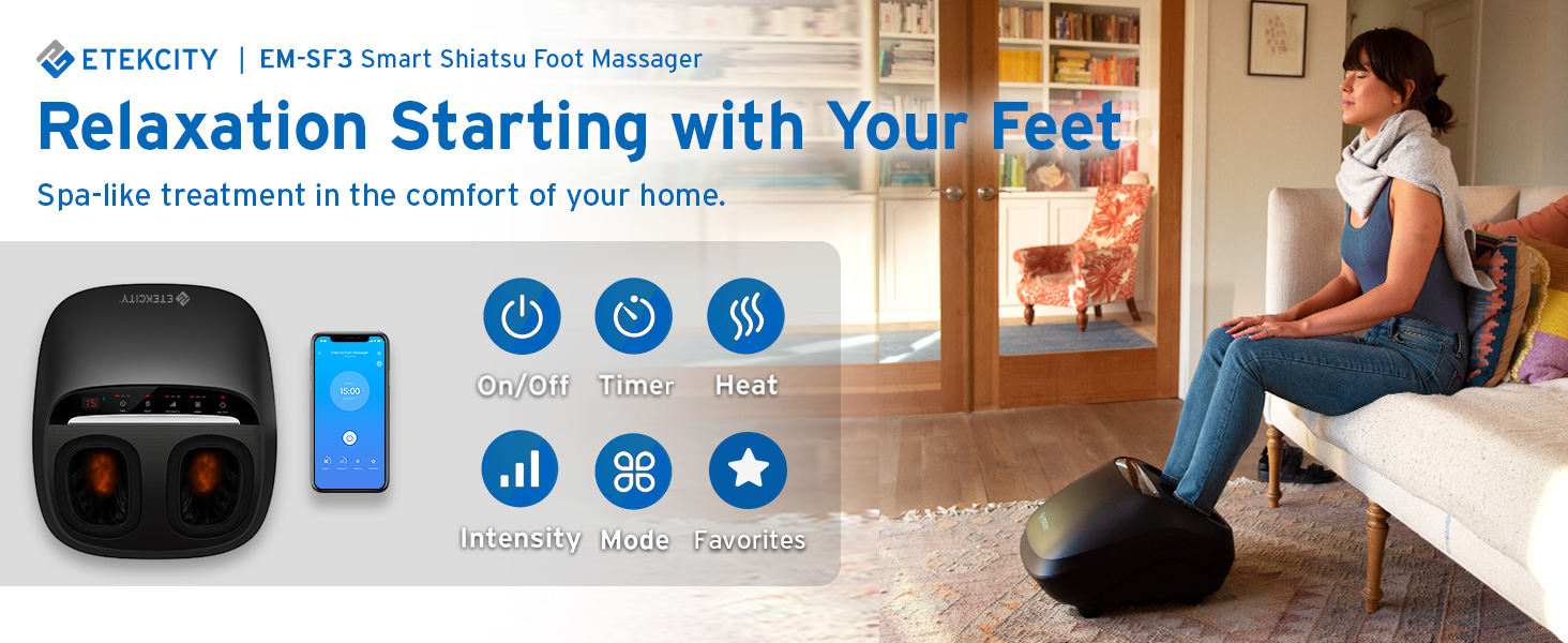 Relaxation Starting with Your Feet