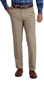 Haggar, haggar motion khaki, motion khaki, casual pants, casual khakis, straight fit, flat front