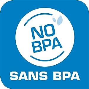 Sans BPA - Sans Phtalate - Respecte le goût et l'odeur des aliments