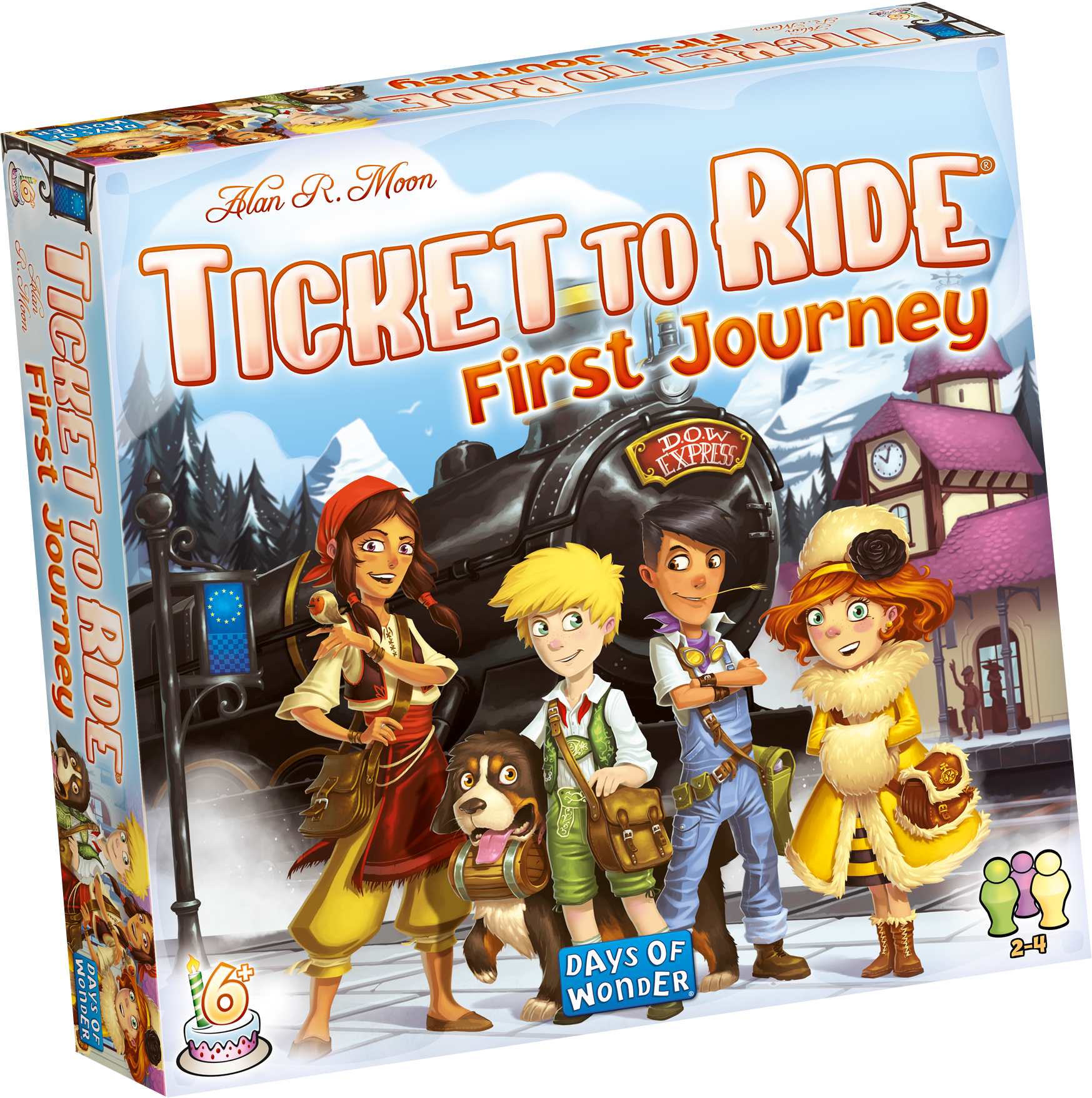 Amazon First Company: Days Of Wonder DOW720027 Ticket To Ride Europe: First