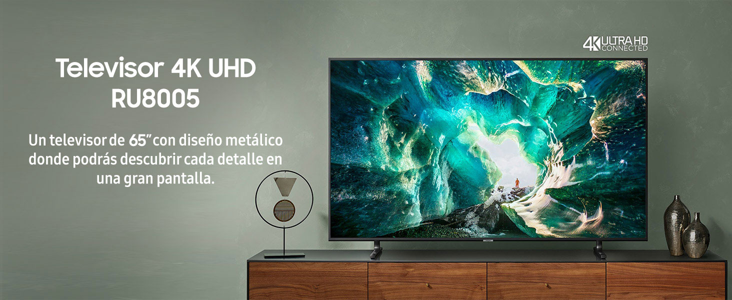 Samsung 4K UHD 2019 65RU8005 - Smart TV de 65
