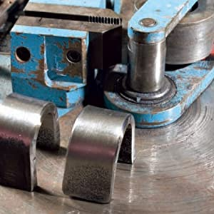 Once the machine has made a complete cycle, the bent test piece welding code