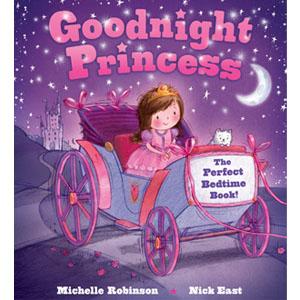 Goodnight Princess, bedtime book, princess bedtime book, princess book, picture book, bedtime