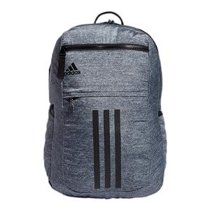 Amazon.com: adidas Unisex League 3 Stripe Backpack, Black, ONE ...