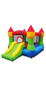 castle bounce slide