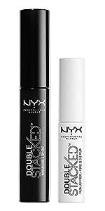 double stacked mascara, nyx, NYX Professional Makeup
