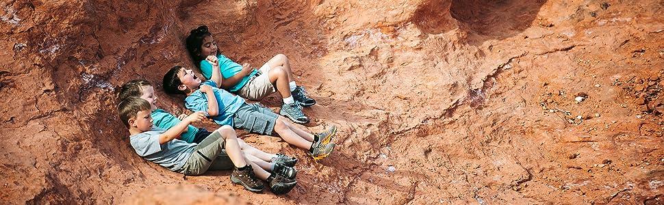 Merrell Kids MOAB FST Low hiking shoe