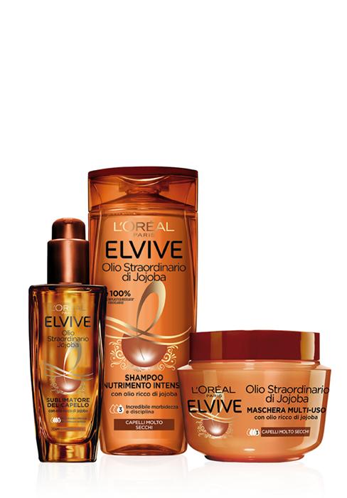 elvive, shampoo, dream long, olio straordinario, shampoo capelli grassi, shampoo capelli lisci