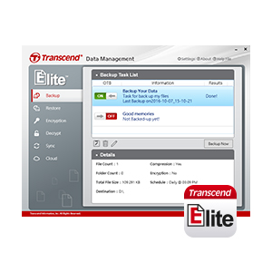 Transcend Elite software