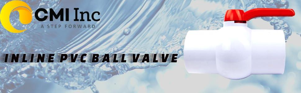 "pvc ball valve valves water hydration ball valve flow control cpvc turn 1/4"" single handle eric"