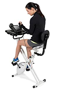 exercise, bike, desk