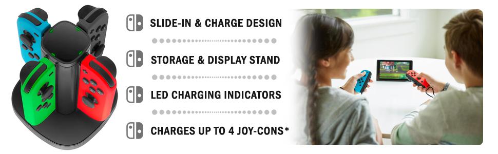 Nintendo Joy Con Charging Dock Station