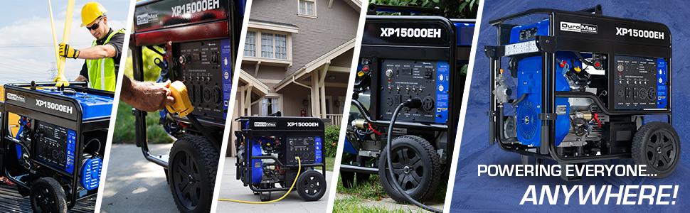 Duromax XP15000EH 150000 Watt Homeback Portable Generator