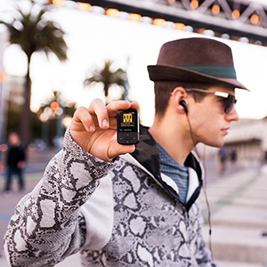 MP3 player for iTunes; music player for iTunes; wearable MP3 player;