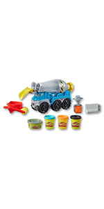 play doh wheels cement truck