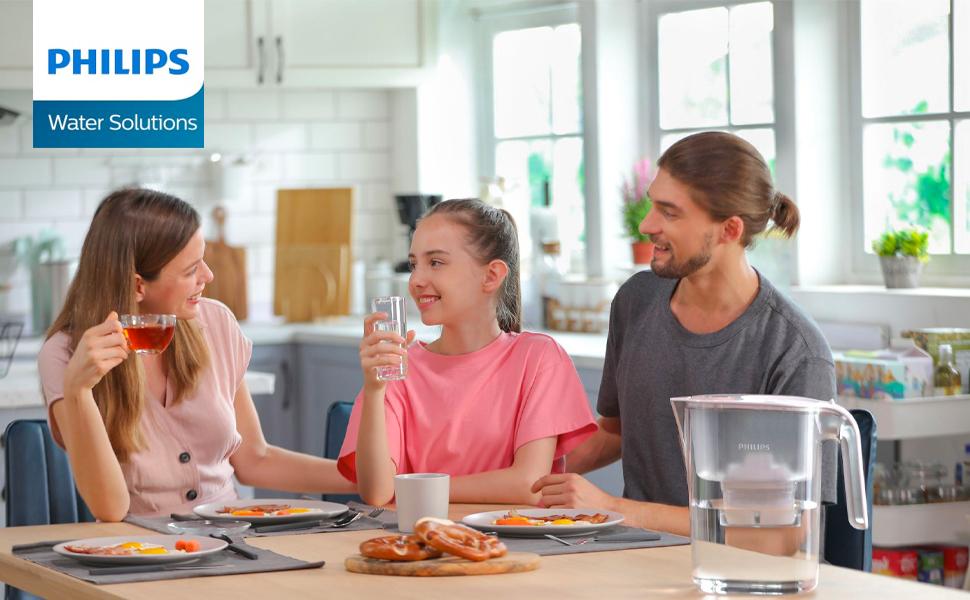 Philips carafe à eau AWP2936WHT