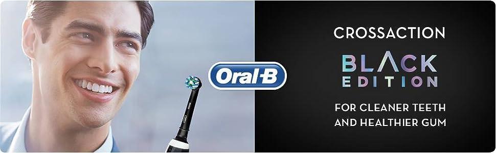 CrossAction黑色版,牙齒清潔,牙齦健康
