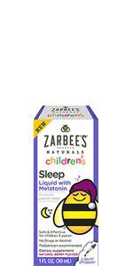 Zarbee's Naturals Children Sleep with Melatonin Supplement, Gummy
