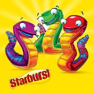 snakes, Starburst snakes, red Starburst, pink Starburst, strawberry Starburst, Wrigley, party