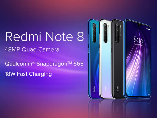 Redmi Note 8 from from Rs. 9,999