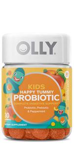 olly probiotic prebiotic kids