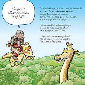letra cursiva, letra manuscrita, aprender a leer, pascual el dragón, áfrica, colección mundo,