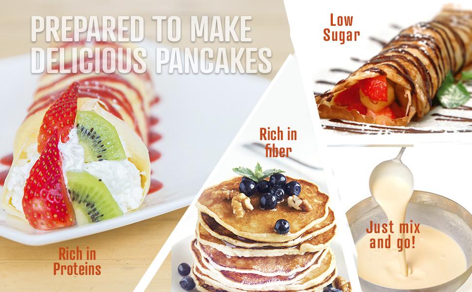 Come Fare Dei Pancake Dietetici