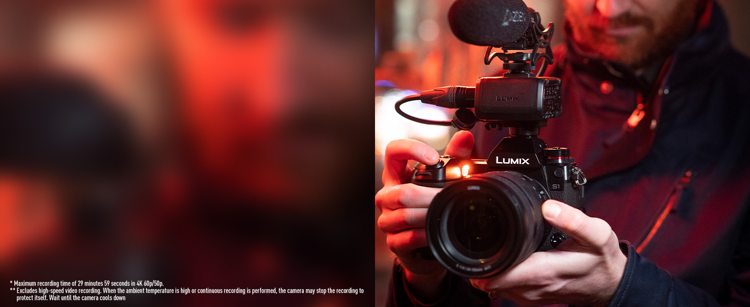 LUMIX DC-S1 DC-S1BODY DC-S1MK 4K 60p Smooth Video Recording