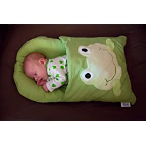 Amazon Com Zcush Cotton Characters Nap Mat Googly Green