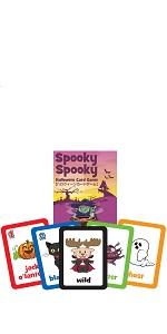 スプーキー スプーキー ハロウィーン カードゲーム 【英語 教材 ゲーム】 Maple Leaf Publishing Spooky Spooky Halloween Card Game