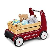 radio flyer classic walker wagon baby walker