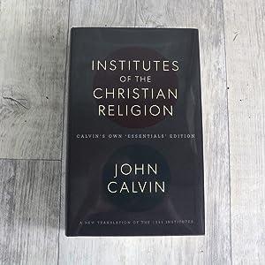 institutes john calvin