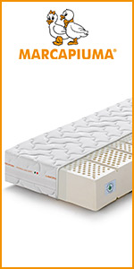 marcapiuma materassi lattice sfoderabile eurolatex traspirante made in italy latex 100% promozione