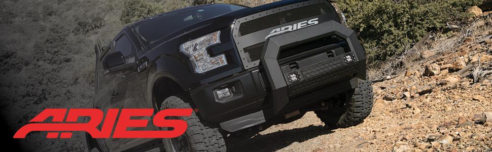 ARIES Truck Accessories Nerf Bars, Step Rails, Side Steps