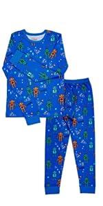 boys pajamas warm fun design