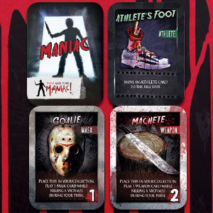horror cabin in the woods card game slasher 1984 the 80s
