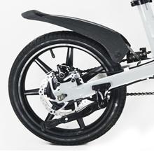 Freno de disco. Ruedas neumáticas bicicleta eléctrica