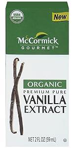 Organic Premium Pure Vanilla Extract