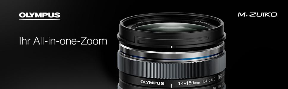Olympus M Zuiko Digital Ed 14 150mm F4 5 6 Ii Objektiv Kamera