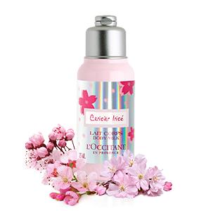body milk;moisturizer;body cream;cherry blossom body milk;limited edition