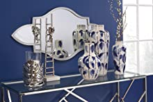 Glam, Shabby, Chic, Home, Decor, Modern, Art deco, Table, Mirror, Wall, Candle, Holder, Decorative