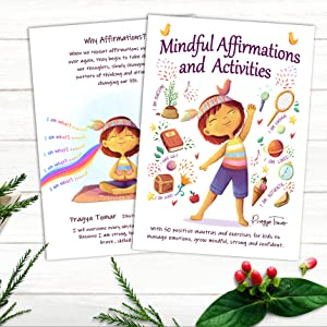 mm - Mindful Affirmations And Activities: A Kid's Guide With 50 Positive Mantras And Activities To Manage Emotions, Grow Mindful, Strong And Confident