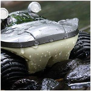 morphibians amphibious remote control car amphibian radio control truck atv kid boy outdoor toy