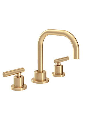 Symmons Slw 3512 Bbz 1 0 Dia Widespread 2 Handle Bathroom Faucet With Drain Assembly In Brushed Bronze 1 0 Gpm Amazon Com