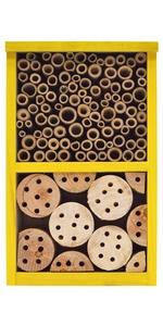 yellow bee house