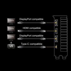 ASUS GeForce RTX 2080 Ti 11G Turbo Edition GDDR6 HDMI DP 1 4 Type-C  graphics card (TURBO-RTX2080TI-11G)