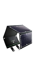 16W ソーラーチャージャー RP-PC008